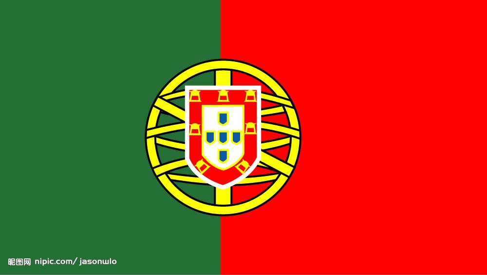 葡萄牙国旗图案